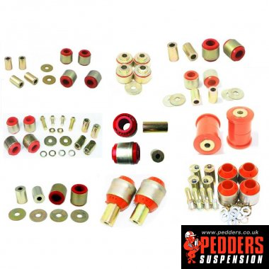 Pedders suspension bushes (Esteem)